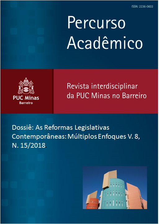 Dossiê: As  Reformas  Legislativas  Contemporâneas:  Múltiplos  Enfoques V. 8, N. 15/2018.