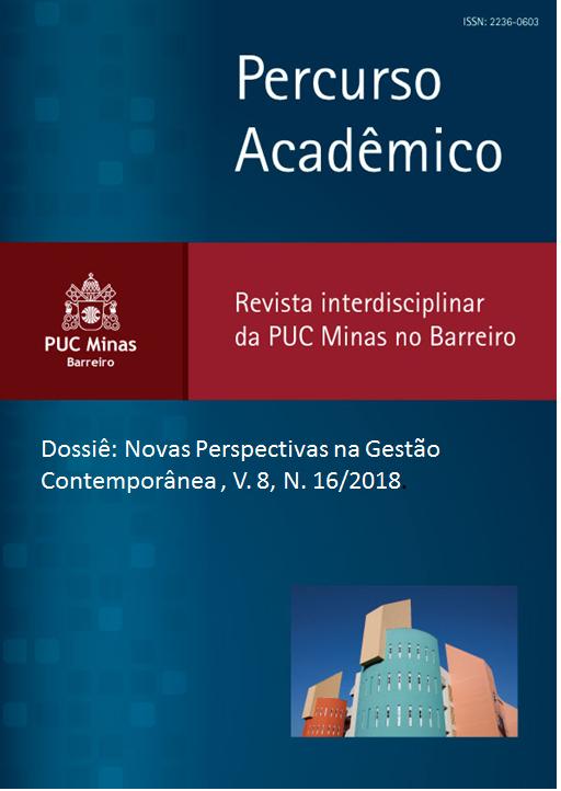 Dossiê: Novas Perspectivas na Gestão Contemporânea , v. 8, n. 16/2018 (JUL/DEZ 2018).