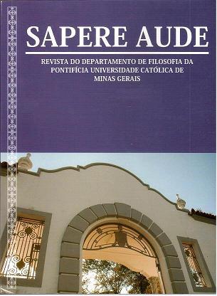 Sapere Aude Vol. 1, No 1 (2010)